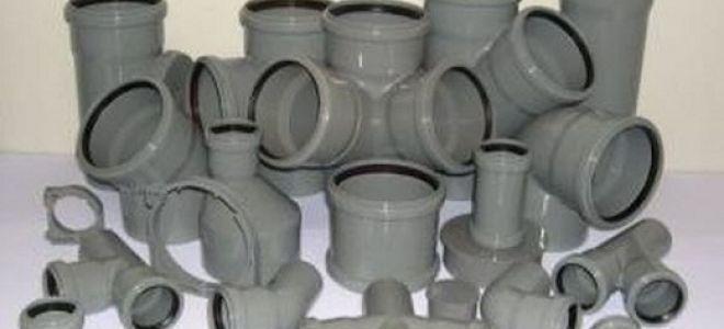 Фитинги для ПВХ канализации