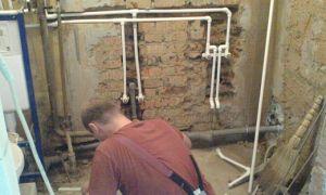 Устройство и разводка труб в ванной