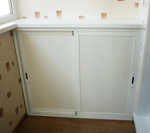Алюминиевый шкаф является отличным вариантом для местностей с повышенной влажностью