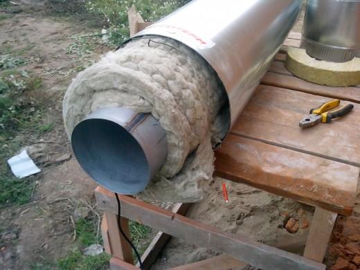 Чем утеплить трубу дымохода снаружи дымоходы 150 тройник
